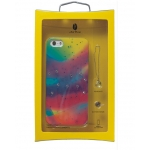 Alef Design Aurora Case with Swarovski Elements for iPhone 5, 5S - Yellow (AD8507)