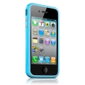 Apple iPhone 4 Bumper - Blue (MC670ZM/B)
