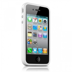 Apple iPhone 4 Bumper - White (MC668ZM/A)