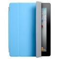 Apple Smart Cover Polyurethane Blue for iPad 4, iPad 3, iPad 2 (MC942LL/A)