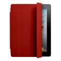 Apple Smart Cover Leather Red for iPad 4, iPad 3, iPad 2 (MC950LL/A)
