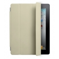Apple Smart Cover Leather Cream for iPad 4, iPad 3, iPad 2 (MC952LL/A)