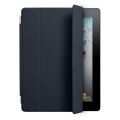 Apple Smart Cover Leather Navy for iPad 4, iPad 3, iPad 2 (MC949LL/A)