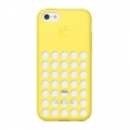 Apple Silicone Case for iPhone 5C - Yellow (MF038)