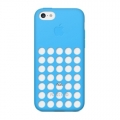 Apple Silicone Case for iPhone 5C - Blue (MF035)