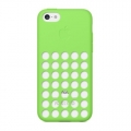 Apple Silicone Case for iPhone 5C - Green (MF037)