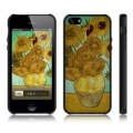 Araree AMY Arts for iPhone 5, 5S - Vase with Sunflowers