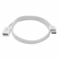 Arwizz USB Extension Cable for iPod, iPhone & iPad - White (AZ507WW)