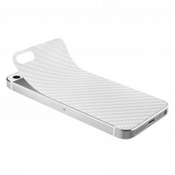 Artwizz Scratch Stopper Carbon Film for iPhone 5, 5S - White (AZ0636WW)