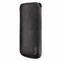 Artwizz Leather Pouch for iPhone 5, 5S - Black (AZ0610ZZ)