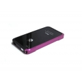 Atomic Hybrid Composite Case Purple/Black for iPhone 4, 4S