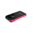 Atomic Hybrid Composite Case Pink/Black for iPhone 4, 4S