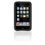 Silicone Case Belkin Sleeve for iPhone 3G/3GS Black/Red