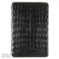 BestSkin Leather Flip Case Black Caiman for iPad Mini (LCM-0013)