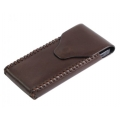 BestSkin Leather Case Brown for iPhone 4, 4S (LC-0143)