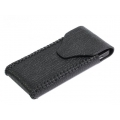 BestSkin Leather Case Black for iPhone 4, 4S (LC-0146)