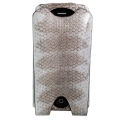 BestSkin Leather Case Gray-Beige Sea Snake for iPhone 4, 4S (LC4-0180)