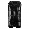 BestSkin Leather Case Black Crocodile for iPhone 4, 4S (LC4-0218)