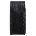 BestSkin Leather Case, Sea Snake for iPhone 5, 5S - Black (LC-0163)