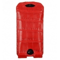 BestSkin Leather Case, Crocodile for iPhone 5, 5S - Red (LC5-0224)