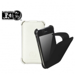 Leather Case Flip Top BH-iP16205 for iPhone 3G/3GS Black
