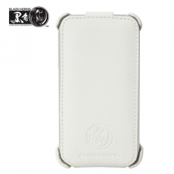 Leather Case Flip Top BH-iP16205 for iPhone 3G/3GS White