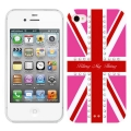 Bling My Thing Hot Pink Union Jack Crystal for iPhone 4, 4S (BMT-11-20-12-01)