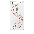 Bling My Think Transparent Case Milky Way Ser. Rainbow Mix for iPhone 5, 5S (BMT-22-00-02-49)