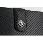 Carbon Fabric Wallet Black/Black for all iPad`s (13-07-0-01)