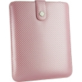 Carbon Fabric Wallet Pink/White for all iPad`s (13-08-0-01)