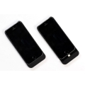 Boostcase Hybrid Case + Extended Battery Sleeve 1500 mAh for iPhone 5, 5S - Black (BCH1500IP5-BLK)