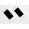 Boostcase Hybrid Case + Extended Battery Sleeve 1500 mAh for iPhone 5, 5S - White (BCH1500IP5-WHT)