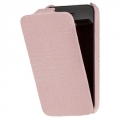 Borofone Leather Case Crocodile for iPhone 4, 4S - Pink