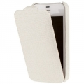 Borofone Leather Case Crocodile for iPhone 4, 4S - White