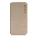 Borofone Leather Case Leader Series Explorer for iPhone 4, 4S - Grey