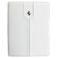 CG Mobile Ferrari Leather Folio Case Montecarlo White for iPad mini 3/iPad mini 2 (FEMTFCMPWH)