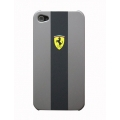Ferrari Hard Case Scuderia Grey for iPhone 4, 4S (FEGT4GSCS)