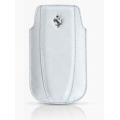 Ferrari Leather Sleeve Maranello White for iPhone 3G, 3GS, 4, 4S (FEMOIPWH)