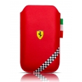 Ferrari Sleeve California Collection Formulla 1 Red for iPhone 4, 4S (FEFOSLMR)