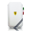 Ferrari Sleeve California Collection Formulla 1 White for iPhone 4, 4S (FEFOSLMW)