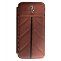 Ferrari California Collection, Book Type Case for iPhone 5, 5S - Camel (FECFFLBKP5KA)