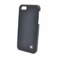 BMW Leather Hard Case Navy for iPhone 5, 5S (BMHCP5LN)