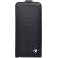 BMW Leather Flap Case Navy for iPhone 5, 5S (BMFLP5LN)