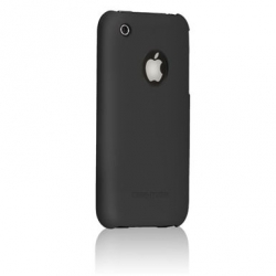 iPhone 3G/3GS Barely There Glossy Cases Black (IPH3GBT-GBLK)