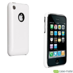 iPhone 3G/3GS Barely There Glossy Cases White (IPH3GBT-GWHT)
