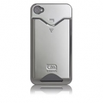 iPhone 4 ID Credit Card Cases (CM011688) Metallic Silver