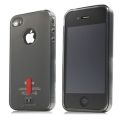 Capdase Soft Jacket Xpose Tinted Black for iPhone 4, 4S (SJIH4S-P201)