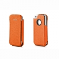 Capdase Capparel Protective Case Royal Orange/Black for iPhone 4, 4S (CPIH4-R071)