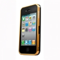 Capdase Alumor Bumper Case DuoFrame Gold/Black for iPhone 4, 4S (MBIH4-00T1)