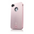 Capdase Alumor Metal Case Jacket Elli Pink/Pink for iPhone 4, 4S (MTIH4S-5144)